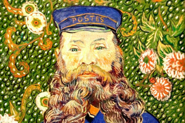 """Portrait of Joseph Roulin"", Vincent van Gogh, 1889"