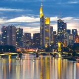 Frankfurt, capitala financiară a Germaniei