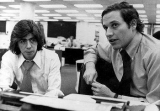 Bob Woodward şi Carl Bernstein în redacţia The Washington Post