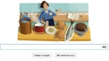 Julia Child, logo aniversar de la Google
