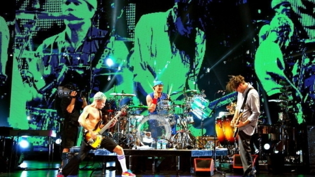 Red Hot Chili Peppers, foto site oficial