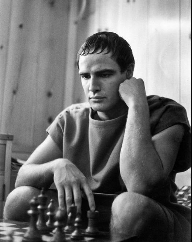 Marlon Brando. Ruth Orkin Photo Archive