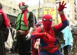 Spiderman la Osaka