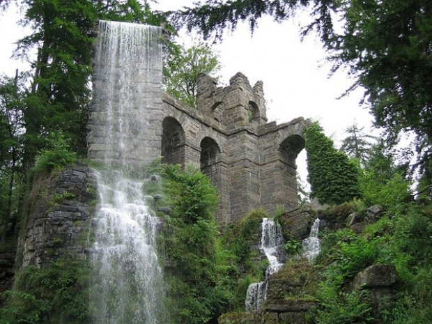 Bergpark in Kassel Germania