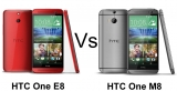 HTC One E8 vs. HTC One M8