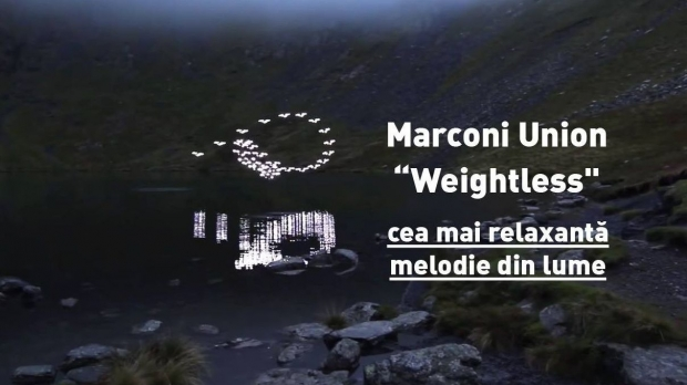 Weightless, cea mai relaxantă melodie