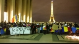 Proteste la Paris. 4.11.2015