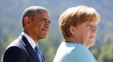 Barack Obama şi Angela Merkel