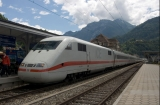 Garnitură de tren ICE în gara Interlaken West