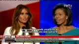 Melania Trump şi Michelle Obama