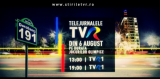 Program Telejurnal din 6 august