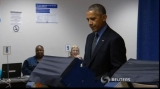 Barack Obama a votat la Chicago