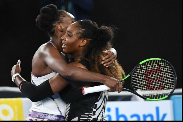 Serena şi Venus Willams,  Australian Open 2017