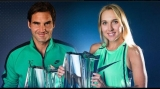 Roger Federer şi Elena Vesnina, Indian Wells 2017