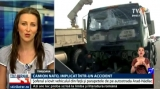 Camion militar, implicat într-un accident