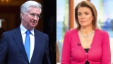 Michael Fallon și  Julia Hartley-Brewer