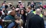 Prințul Harry și Meghan Markle, la Edinburgh