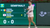 Simona Halep la Indian Wells