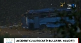 Accident de autocar în Bulgaria