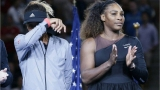 Naomi Osaka și Serena Williams