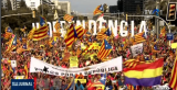 Miting de amploare la Barcelona