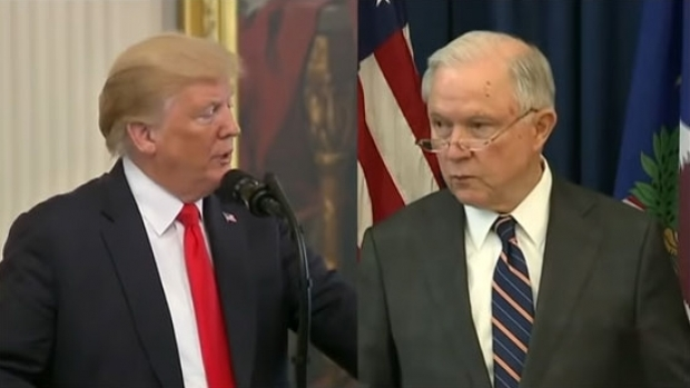 Donald Trump și Jeff Sessions