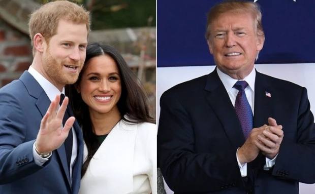Prințul Harry, Meghan și Donald Trump