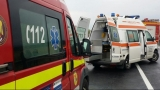 Șofer de ambulanță beat, implicat într-un accident