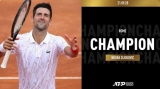 Novak Djokovic, campion la Roma 2020