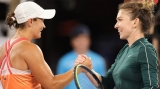 Ashley Barty și Simona Halep