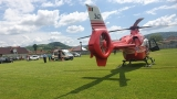 Accident rutier. Elicopter SMURD