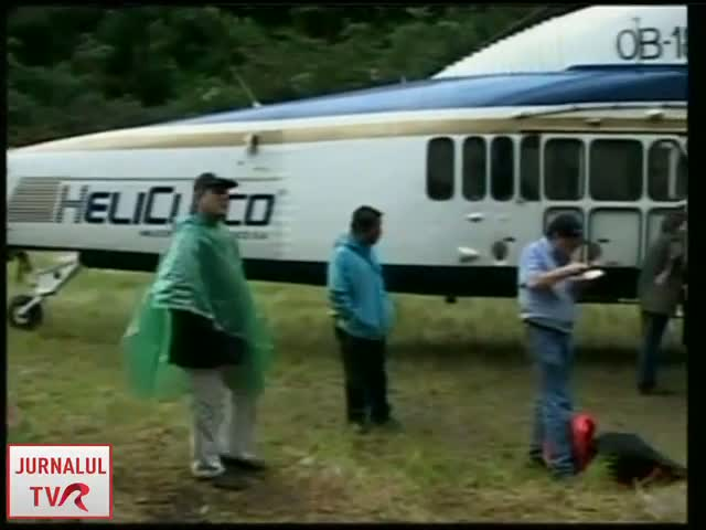 Elicopter disparut in Peru