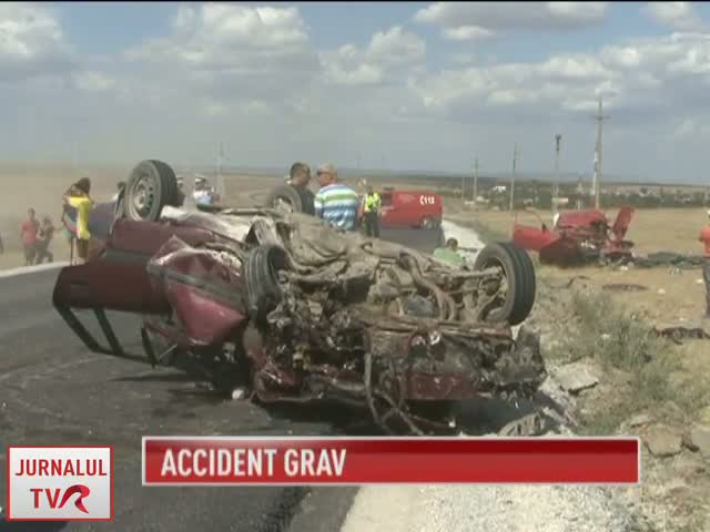 Accident tragic la Constanta