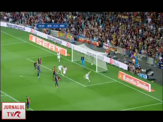 Barca s-a impus in fata Real Madrid cu 3-2