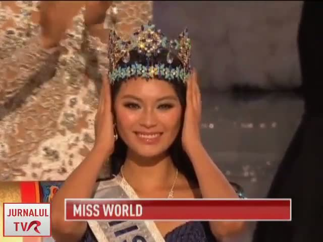 Miss World 2012 este o chinezoaica