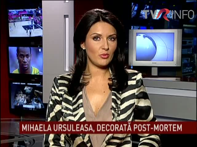 Pianista Mihaela Ursuleasa a fost decorata post-mortem