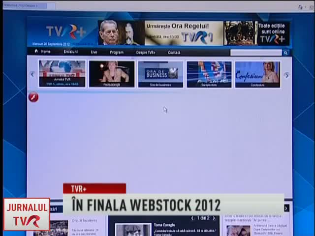 TVR Plus, in finala Premiilor Webstock