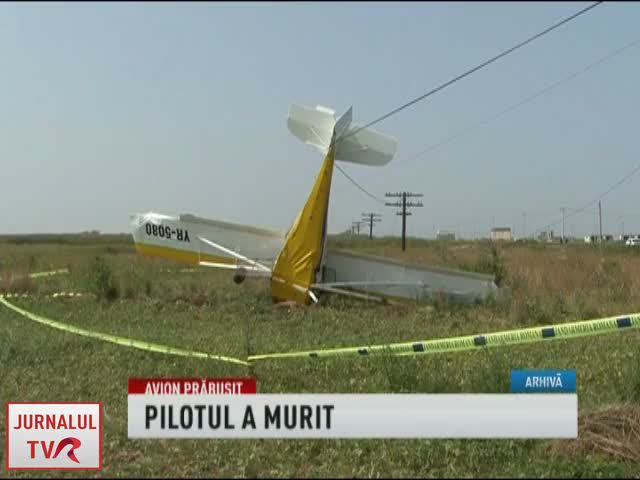 Accident aviatic la Comana