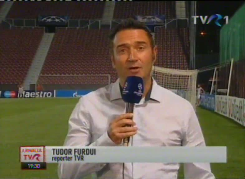 Meci istoric: CFR Cluj - Manchester United
