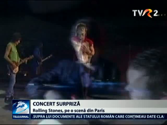 Rolling Stones, concert in Paris