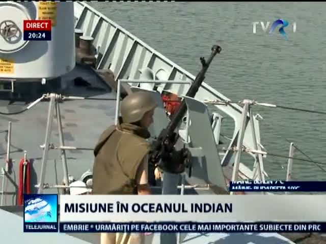 Fregata Ferdinand, misiune in Oceanul Indian