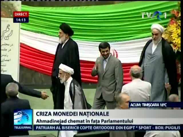 Iran: Ahmadinejad, chemat in Parlament