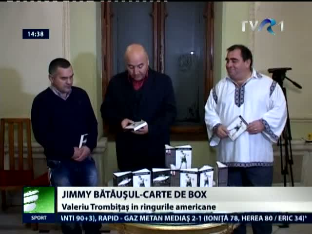 Jimmy batausul - carte de box