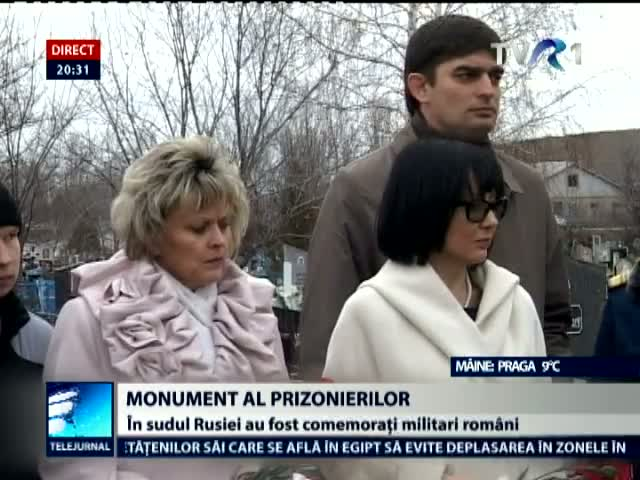 Monument al prizonierilor, in Rusia