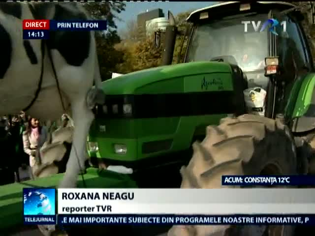 Incidente la protestul agricultorilor