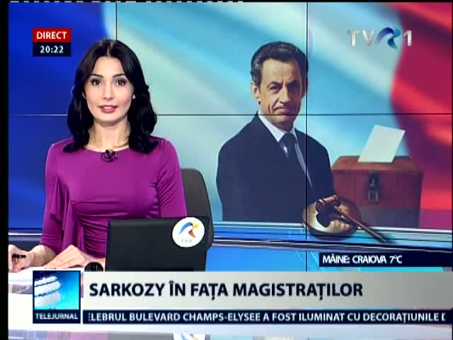 Sarkozy in fata magistratilor