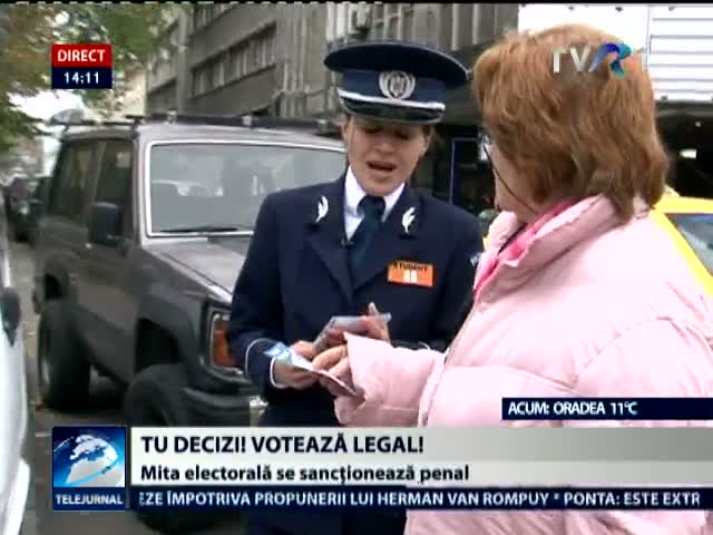 Voteaza legal. Campanie a MAI
