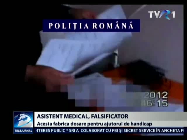 Asistent medical, acuzat de fals