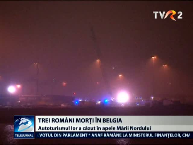 Trei romani morti in Belgia