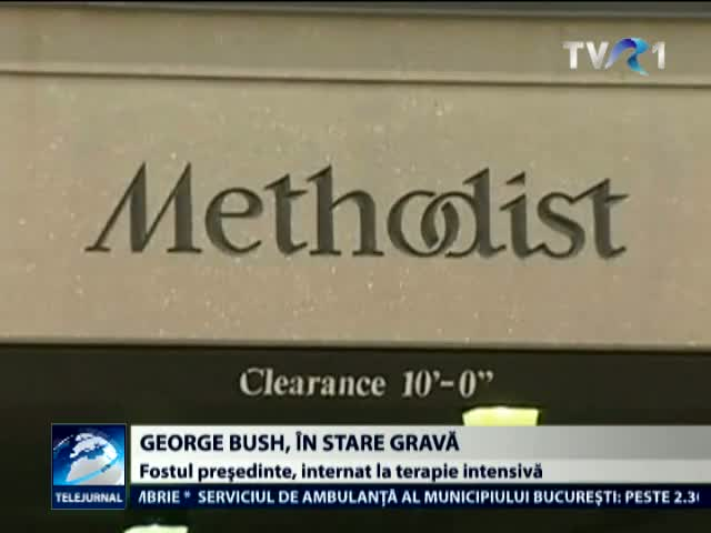 George Bush, in stare grava